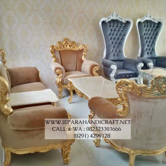 Gambar Sofa Ruang Tamu Classic Italia