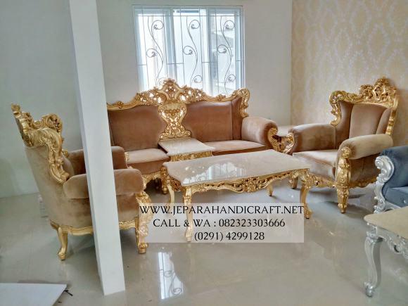 Gambar Sofa Ruang Tamu Classic Mewah Eolo