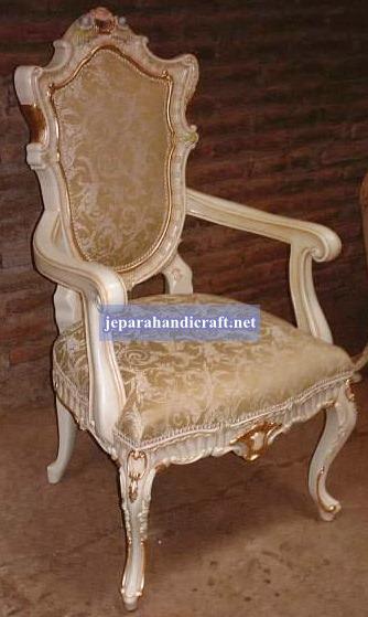Gambar Davina Dining Armchair 65x20x112 2