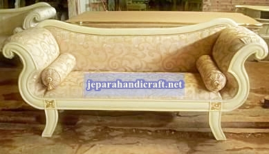 Sofa Double Leaf Chaise Lounge Jepara