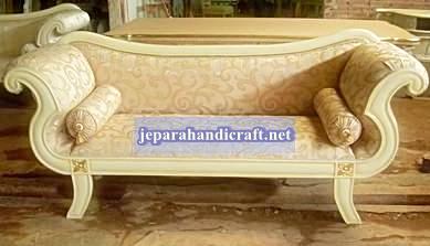 Jual Furniture Sofa Klasik Double Leaf Chaise Lounge Jepara