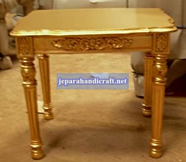 Jual Furniture Meja Jati Gianni End Table Jepara Harga Murah