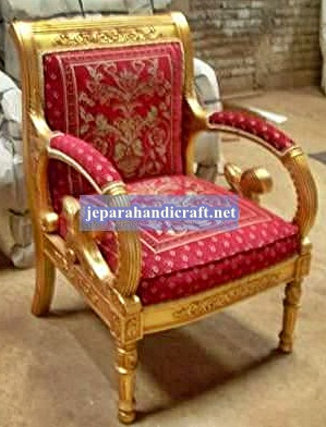 Jual Furniture Set Kursi Tamu Jati Gianni Armchair Jepara