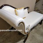 Sofa Classic Regency Chaise Lounge Jepara