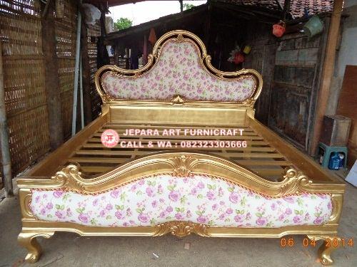 Gambar Tempat Tidur Klasik Sephia Jepara