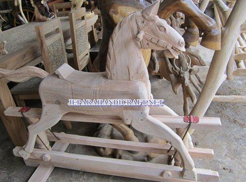 Gambar kuda goyang trembesi