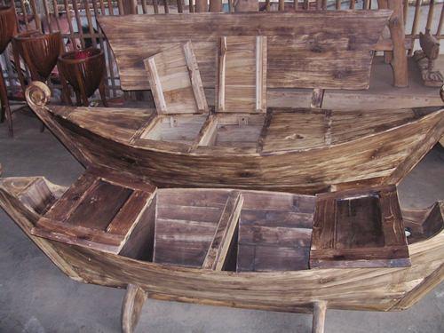 Gambar kursi antik perahu