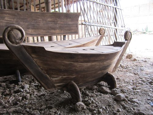 Set Sofa Antik Perahu Jepara