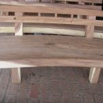 Bangku Taman Antik Trembesi Solid Wood