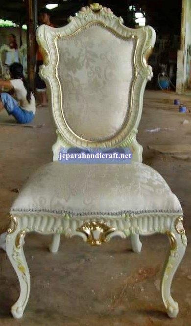 Gambar Davina Dining Sidechair 55x20x112