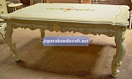 Gambar Davina Rectangular Dining Table 240x120x80