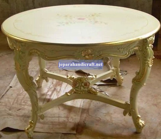 Gambar Davina Round Dining Table 120x120x80