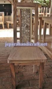 Kursi Makan Antik Pin Jati JH-06