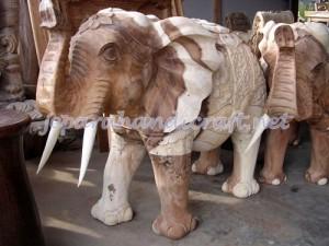 Patung Gajah India