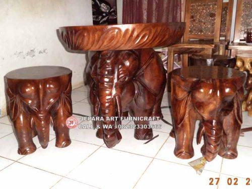 Gambar Kursi Tamu Gajah Unik 1