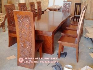 Gambar Meja Makan Antik Trembesi Besar 2 300x225