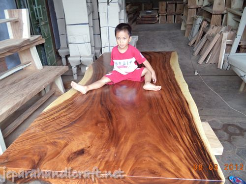 jual meja solid wood