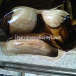 Nampan Kayu Antik Ikan Sono Keling
