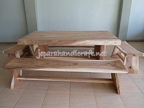 Gambar Set Kursi Antik Sate Solid Wood