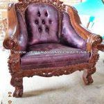 Dijual Cepat Kursi Sofa Tamu Jati Ganesha Mawar