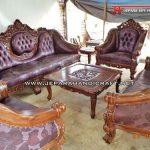 Termurah Kursi Sofa Tamu Jati Ganesha Mawar