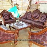 Furniture Murah Jual Kursi Sofa Tamu Jati Ganesha Mawar