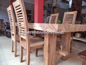 Gambar Meja Makan Minimalis Antik Solid Wood 6 Kursi Jari 1 300x225