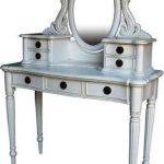 Meja Rias Klasik Victorian White Duco