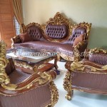 Sofa Ruang Tamu Jati Royal Calista