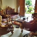 Set Sofa Tamu Jati Royal Calista