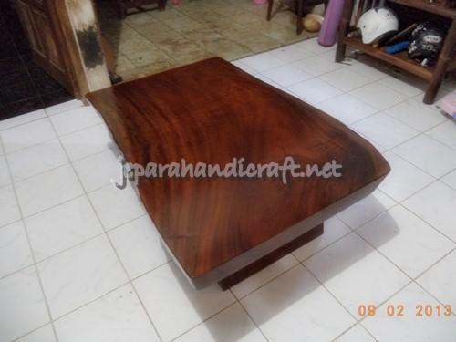 Gambar meja tamu solid kayu trembesi 1