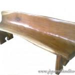 Bangku Taman Talang Solid Wood