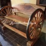 Kursi Bangku Roda Antik Solid