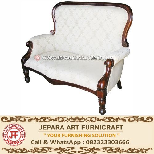Kursi Sofa Tamu Grandfather 2 Seater
