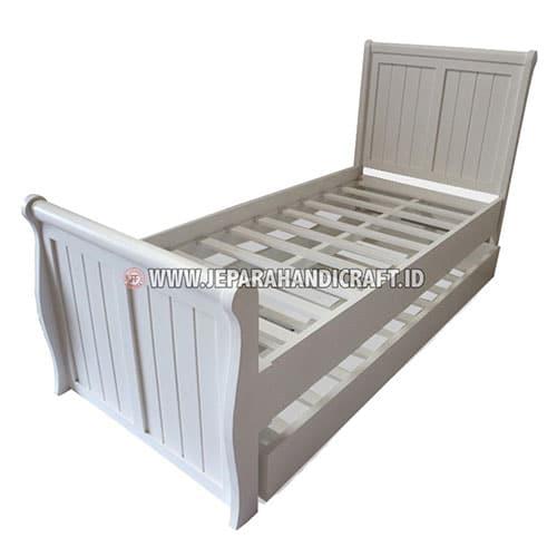 Tempat Tidur Anak Minimalis Laci Duco