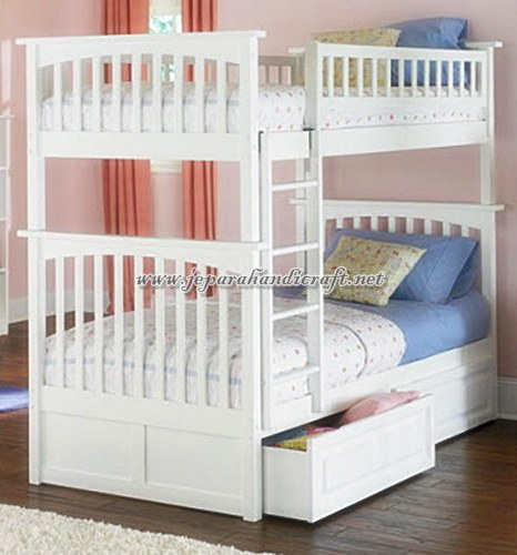 Gambar Tempat Tidur Anak Tingkat Minimalis Duco