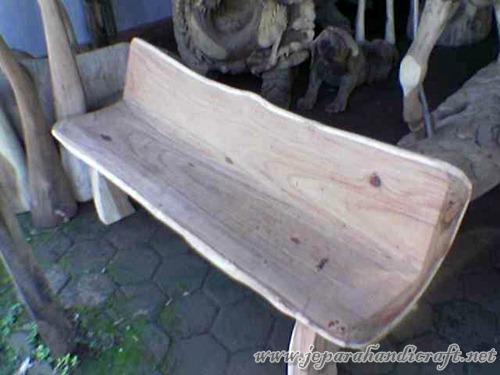 Jual Bangku Taman Talang Solid Wood