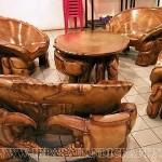 Kursi Tamu Unik Kepiting Solid Wood