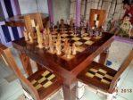 Kursi Meja Makan Game Catur Jawa