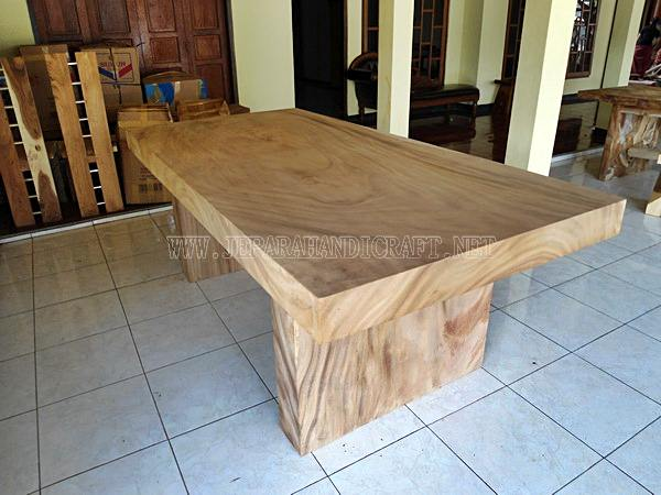 Jual Meja Solid Wood Trembesi Unnatural Murah