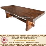 Meja Solid Wood Trembesi Unnatural