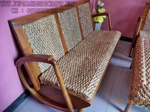 Gambar kursi tamu jati anyaman 5