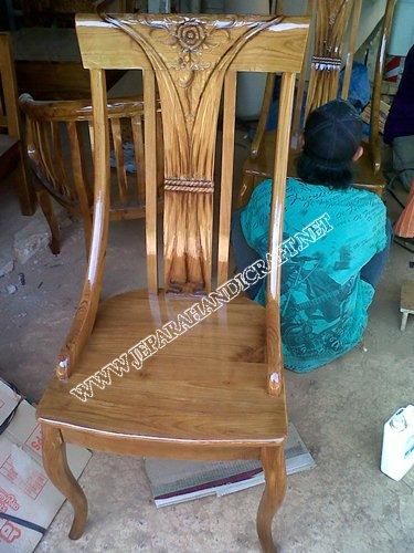 Gambar kursi makan ukiran jepara