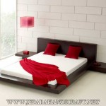 Tempat Tidur Minimalis Jati Jepang Modern