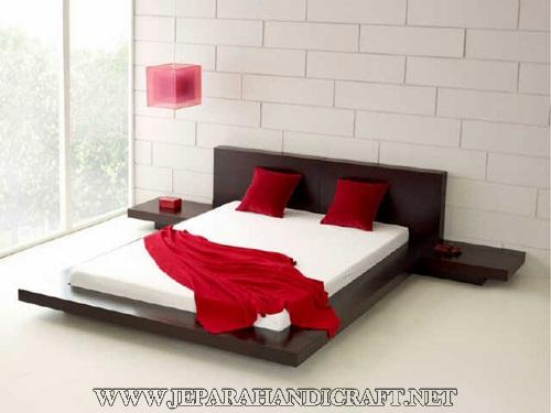 Dijual Tempat Tidur Minimalis Jati Jepang Modern Berkualitas Terbaik