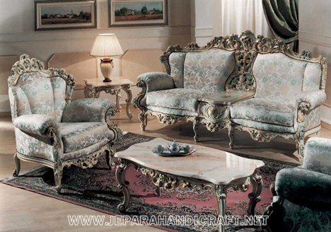 Gambar Sofa Mewah Novella Living Room