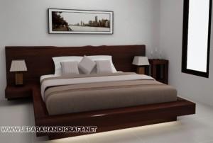 Gambar Tempat Tidur Minimalis Antik Solid Wood 300x202