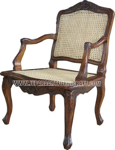 Gambar Kursi Rotan French Arm Chair