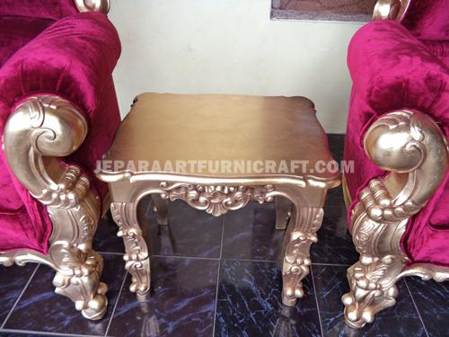 Gambar Tea Set Classic Cobra Antique Gold Leaf 2