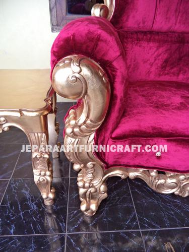 Gambar Tea Set Classic Cobra Antique Gold Leaf 4